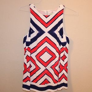Vineyard Vines Top - Red, White, and Blue